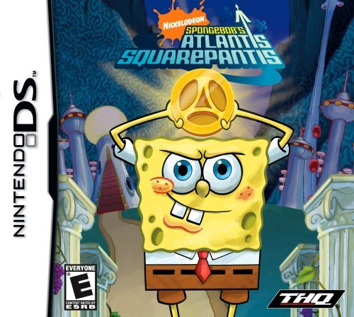 Ninds Spongebob Atlantis Squarepants Thq E