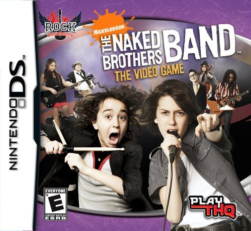 Nintendo Ds Naked Brothers Band