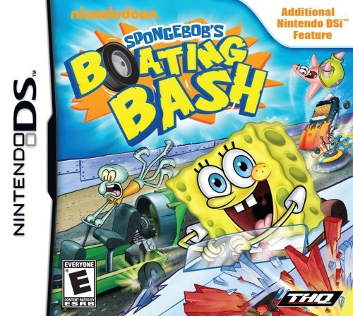Nintendo Ds Spongebob Boating Bash