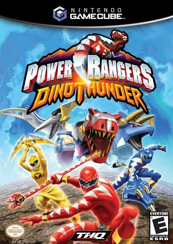Cube Power Rangers Dino Thunder