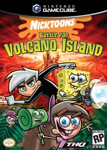 Cube Nicktoons Battle Volcano