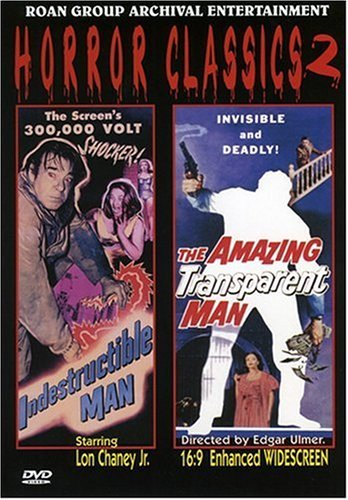 Horror Classics Vol. 2 Indestructible Man Amaz Bw Dss Nr 2 On 1
