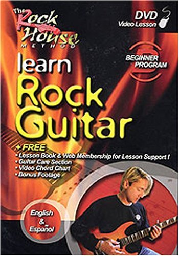 Rock House Learn Rock Guitar Beginner Clr Nr 2nd Ed.