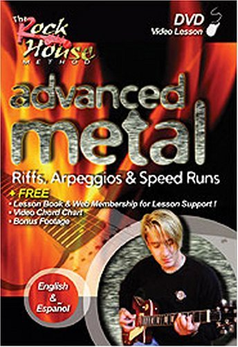 Rock House Advanced Metal Clr Nr 2nd Ed.