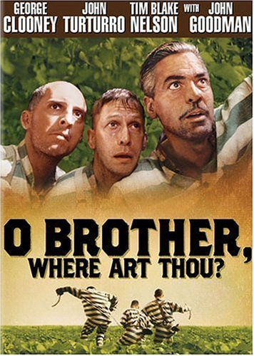 O Brother Where Art Thou? Clooney Turturro Blake DVD Pg13 Ws