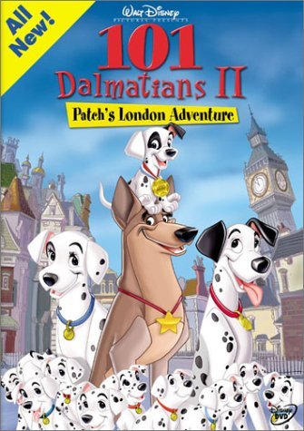 101 Dalmatians 2 Patch's London Adventure Disney Clr Prbk 12 09 02 G