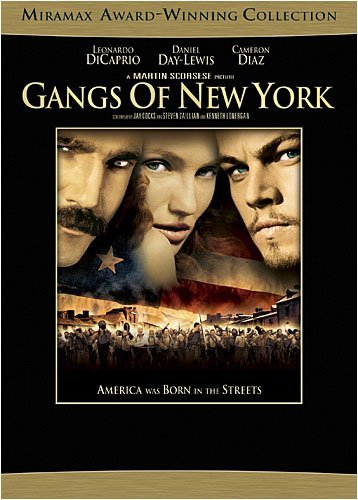 Gangs Of New York Dicaprio Day Lewis Diaz Ws Cc R 2 DVD