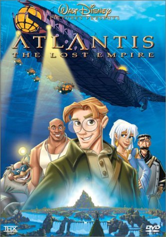 Atlantis Lost Empire Disney DVD Pg