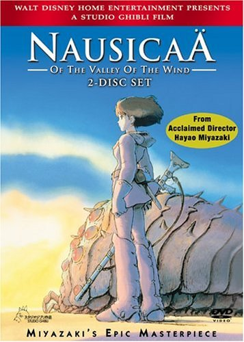 Nausicaa Of The Valley Of The Wind Miyazaki DVD Nr Ws