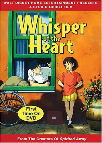 Whisper Of The Heart Studio Ghibli DVD Nr Ws