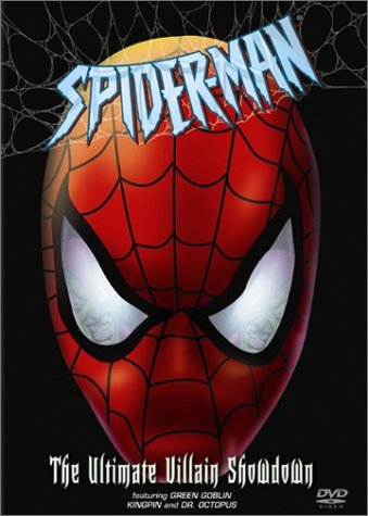 Spider Man Ultimate Villian Showdown DVD Nr