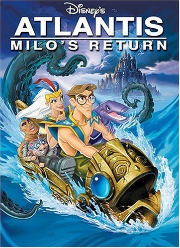 Atlantis Milo's Return Disney DVD G