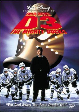 Mighty Ducks 3 D3 Estevez Nordling Kling DVD Pg