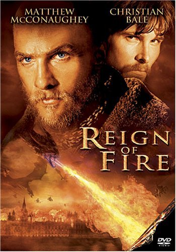 Reign Of Fire Mcconaughey Bale DVD Pg13 Ws
