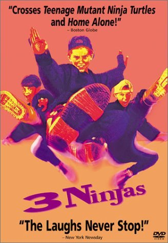3 Ninjas Wong Treanor Slade Power DVD Pg