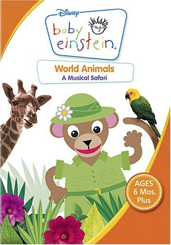 Baby Einstein World Animals Clr Nr