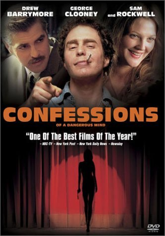 Confessions Of A Dangerous Min Rockwell Clooney Barrymore Rob Clr Cc R