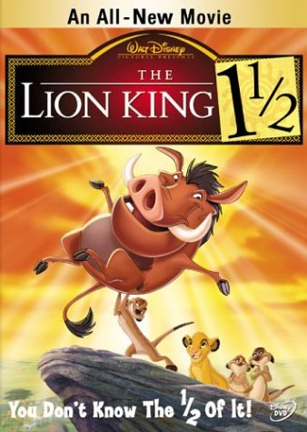 Lion King 1 1 2 Lion King 1 1 2 Clr Nr 2 DVD