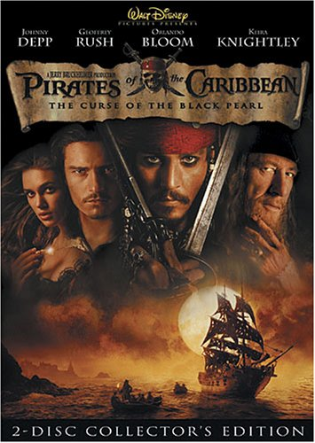 Pirates Of The Caribbean Curse Of The Black Pearl Depp Bloom Knightly Pg13