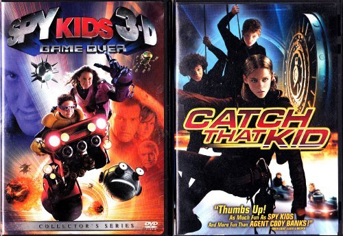 Spy Kids 3 Game Over 3d Banderas Gugino Stallone Monta Ws Pg