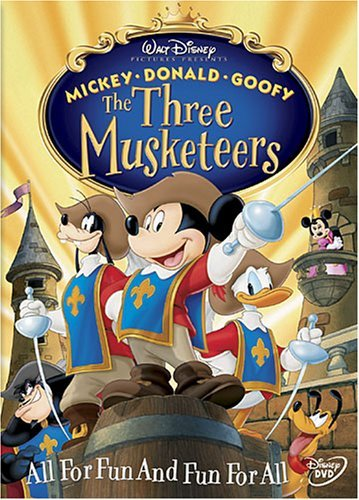 Three Musketeers Disney Ws Nr