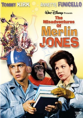 Misadventures Of Merlin Jones Kirk Funicello Ames Clr G
