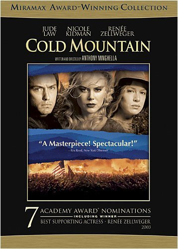 Cold Mountain Law Kidman Zellweger Portman Clr Nr 2 DVD