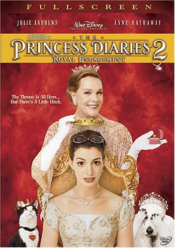 Princess Diaries 2 Royal Engagement Hathaway Andrews Elizondo Mata DVD Nr