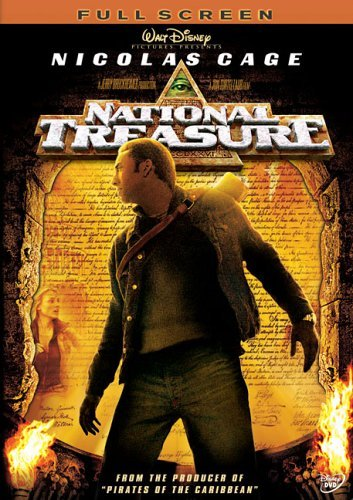 National Treasure Cage Bean Kruger Bartha Pg