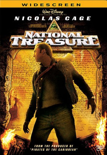 National Treasure Cage Bean Kruger Bartha DVD Pg Ws
