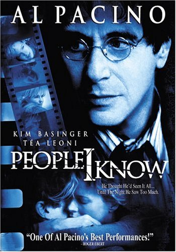 People I Know Pacino Leoni Basinger O'neal Clr Nr