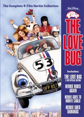 Herbie The Love Bug Herbie The Love Bug Clr Nr 4 DVD