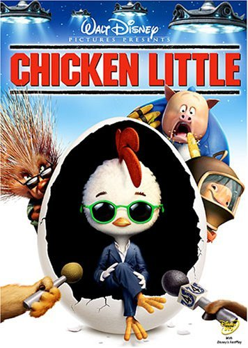 Chicken Little Disney DVD G
