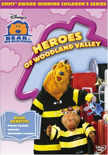 Bear In The Big Blue House Heroes Of Woodland Valley DVD