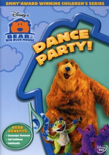 Dance Party Bear In The Big Blue House Clr Nr