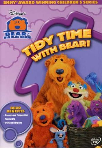 Tidy Time Bear In The Big Blue House Clr Nr Incl. Bear