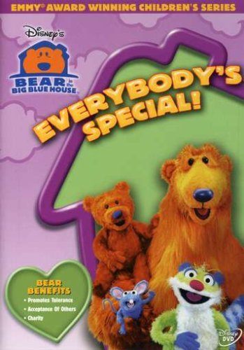 Bear In The Big Blue House Everybodys Special DVD Nr