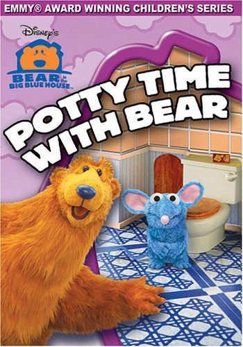 Potty Time W Bear Bear In The Big Blue House Clr Nr