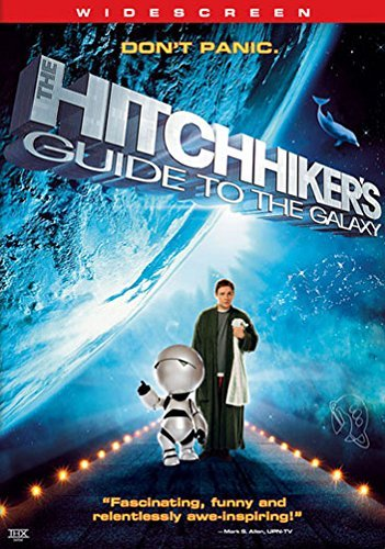 Hitchhikers Guide To The Galaxy Freeman Mos Def Rockwell Deschanel DVD Nr Ws