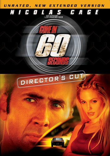 Gone In 60 Seconds Cage Jolie Ribisi Ws Nr Directors Cut