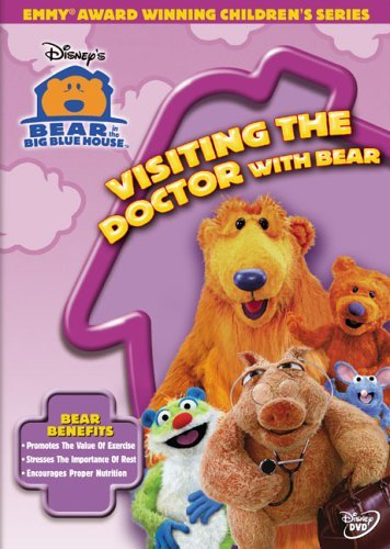 Visiting The Doctor With Bear Bear In The Big Blue House Clr Nr