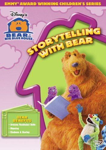 Storytelling With Bear Bear In The Big Blue House Clr Nr