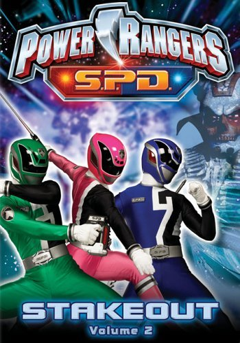 Power Rangers Spd Vol. 2 Stakeout Clr Chnr