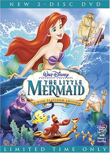 Disney Little Mermaid Clr G 2 DVD Special