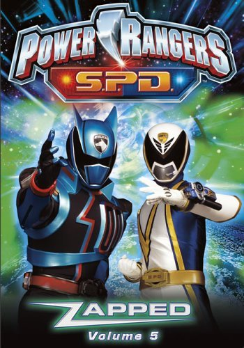 Power Rangers Spd Vol. 5 Zapped Clr Nr
