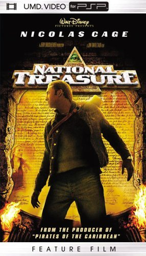 National Treasure Cage Bean Kruger Bartha Clr Umd Pg13