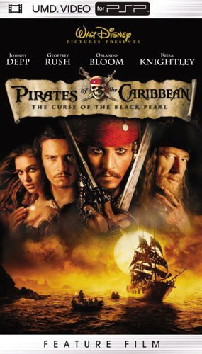 Pirates Of The Caribbean Curse Depp Rush Bloom Knightley Clr Umd Pg13