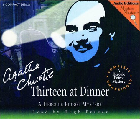 Fraser Hugh Christie Agatha Thirteen At Dinner A Hercule Poirot Mystery (myst