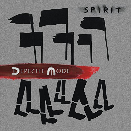 Depeche Mode Spirit 2 Lps 180 Gram Vinyl In Gatefold Jacket W Dl Card. Discs Have 3 Sides Of Music And The Fourth Side With A Special Spirit Etching