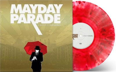 Mayday Parade A Lesson In Romantics (white W A Red Blob And Black Splatter Vinyl) Anniversary Edition Limited To 1500 With Download